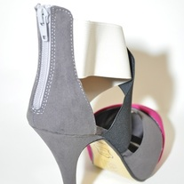 Multi Peeptoe Pump by Pierre Dumas