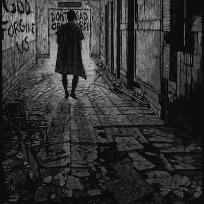 Walking dead - rare b&w version