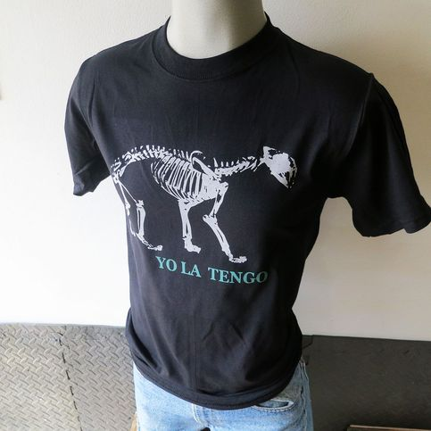 Yo la tengo band t shirt screen print short sleeve for Vintage screen print t shirts