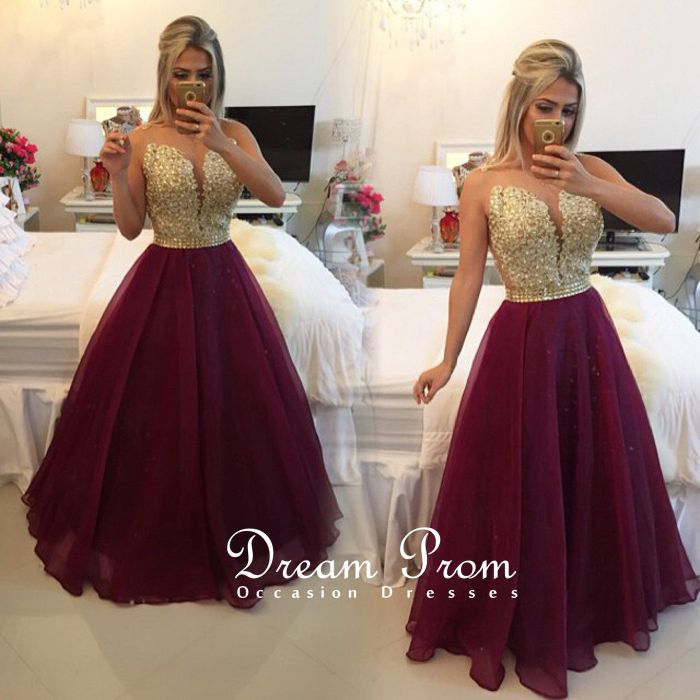 Gorgeous Strapless Prom Dresses,Dress For Prom, Evening Dresses ...