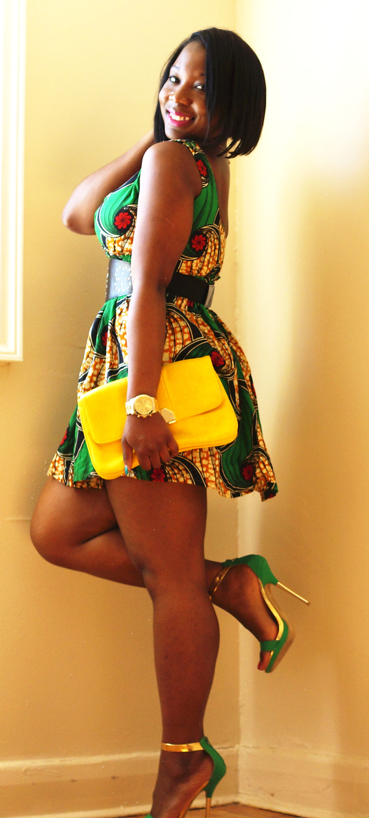 African Ankara Print Dress 183 Skinnybish 183 Online Store Powered By Storenvy
