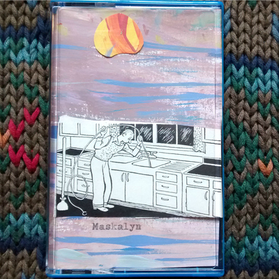 "Maskalyn ""suicidal plastic man: maskalyn's greatest hits"" cassette (dnt086)"