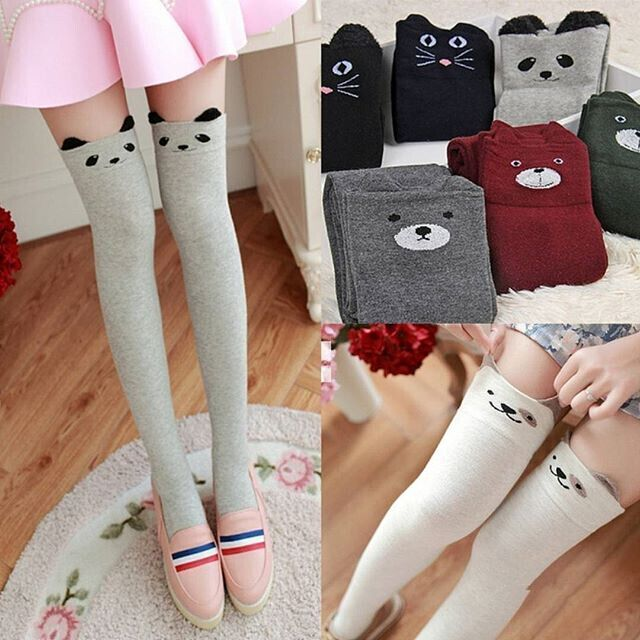 Japanese cute cartoon panda stockings · Asian Cute {Kawaii ...