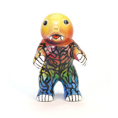 Custom painted m1go mini mongler bullmark ultraman sofubi vinyl japan kaiju