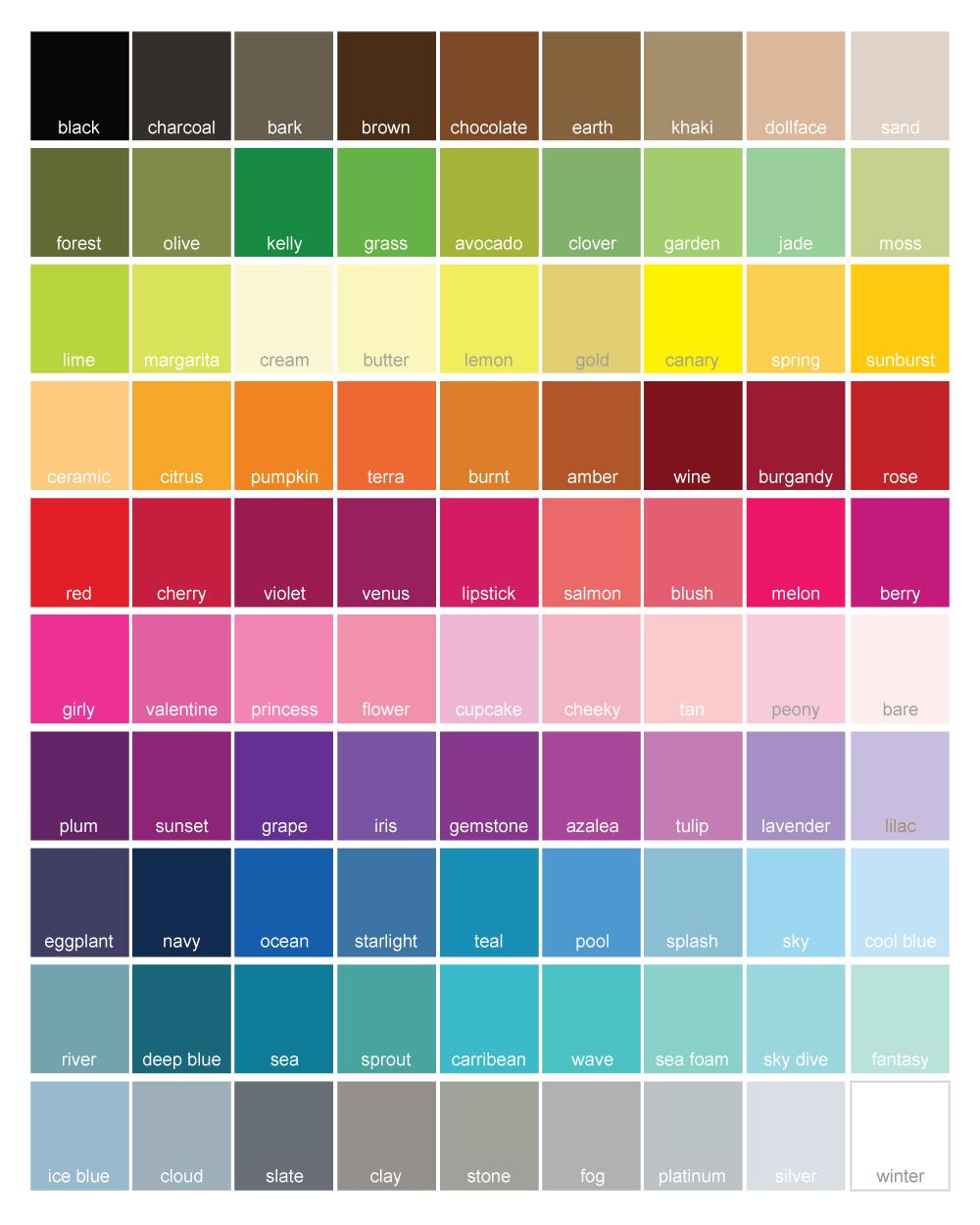 1950s Color Palette Hot Girls Wallpaper