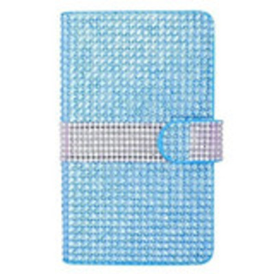 Galaxy note edge - dazzling rhinestone wallet buckle case in assorted colors