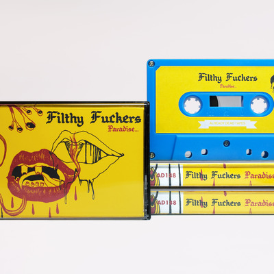 Filthy fuckers 'paradise' cassette (ad188)