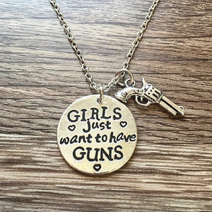 Girls & Guns Necklace