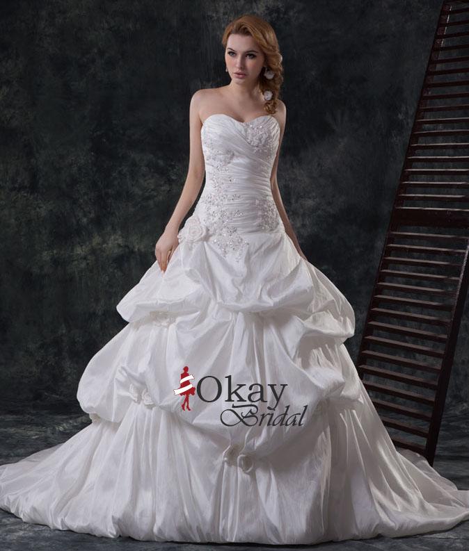 Sweetheart Wedding Dress,Cheap Wedding Dress,A Line Wedding Dress ...