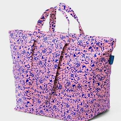 Baggu carry all bag (blush static)