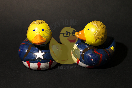 Steve Rogers Rubber Duck from Talk Ducky to Me