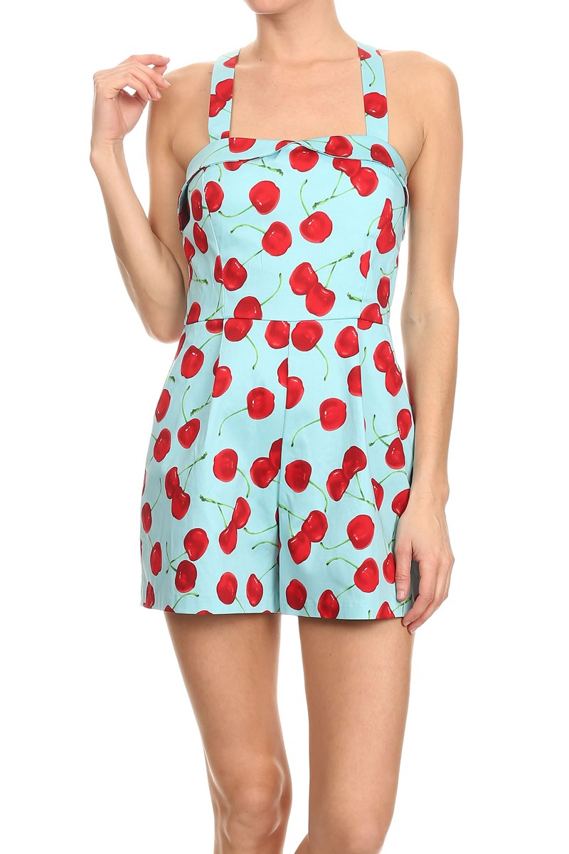 b4b0c2c8067 Pin-Up Cherry Romper · Dialed In Boutique · Online Store Powered by ...