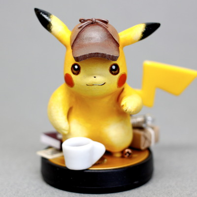 Limited edition detective pikachu