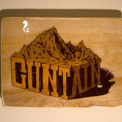Cuntain - wood transfer
