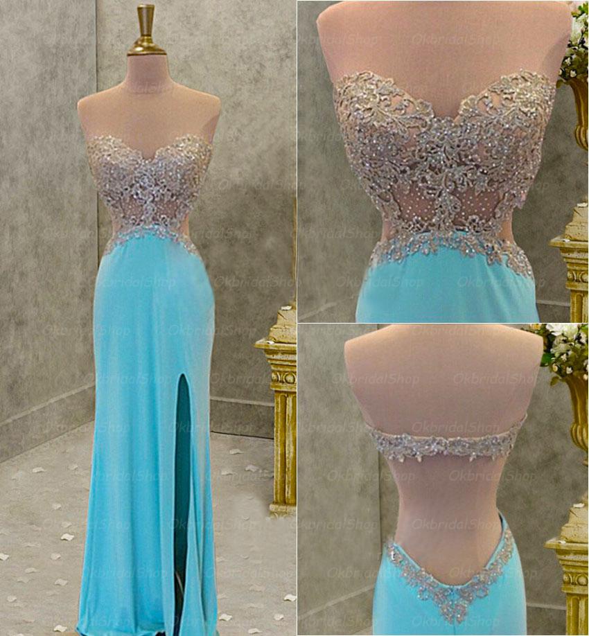 Backless prom dresses 2017