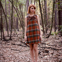 Lola Throws a Party in pumpkin plaid- Limited quanity left!