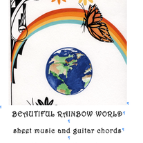 Beautiful Rainbow World Sheet Music