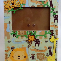 Jungle Baby-Boy Frame