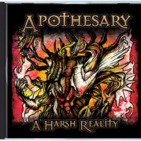 "Apothesary ""A Harsh Reality"" Album (CD)"