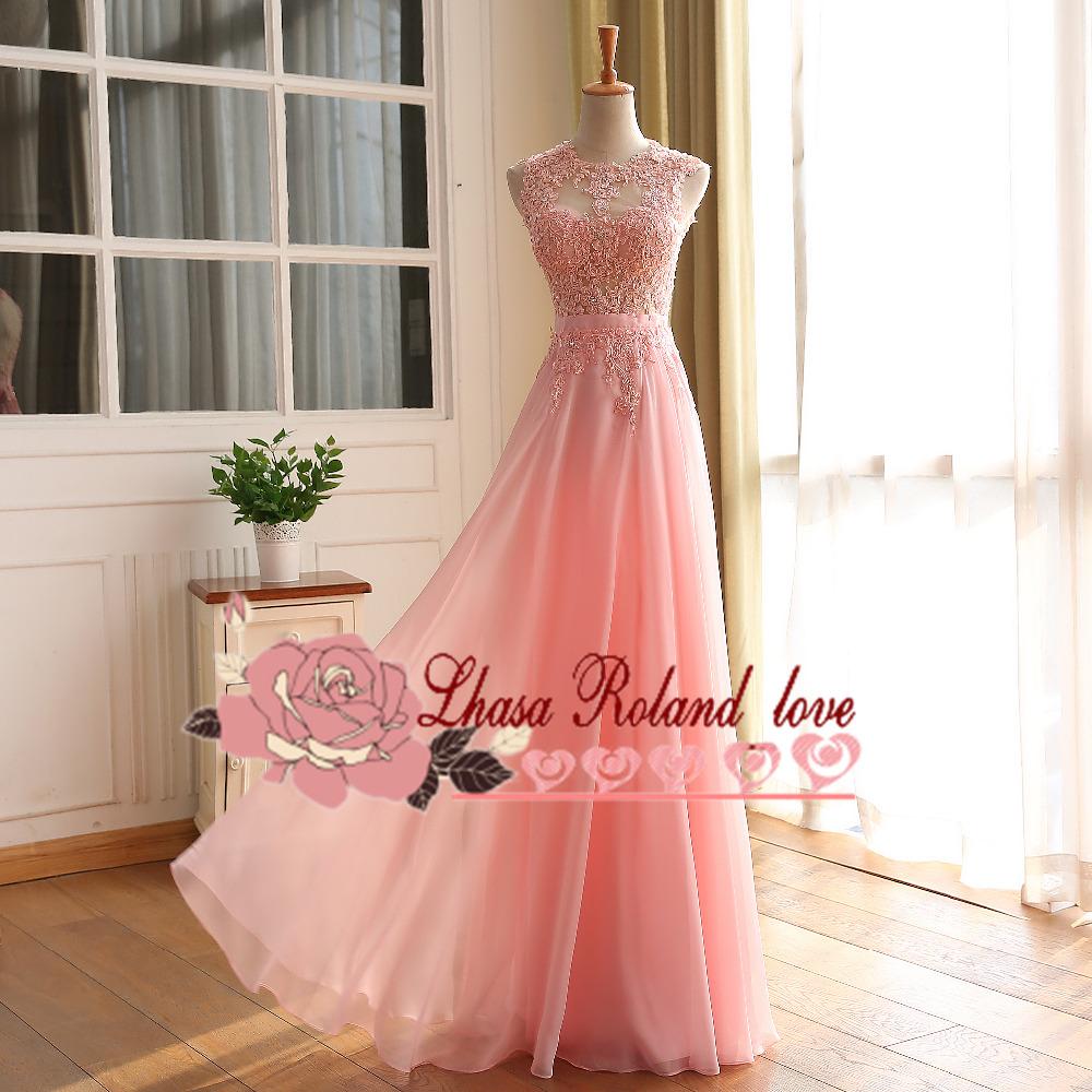 Long prom dresses, lace prom dresse,a-line evening dresses, party ...