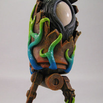 "Infected (custom 5"" ThreeA WWRp Bertie)"
