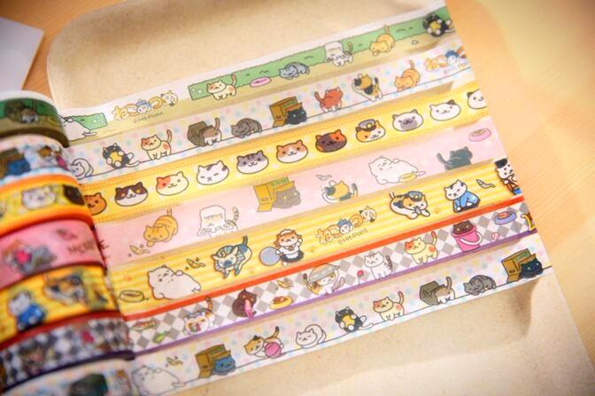 neko atsume masking tape 7 designs ice cream cake online store
