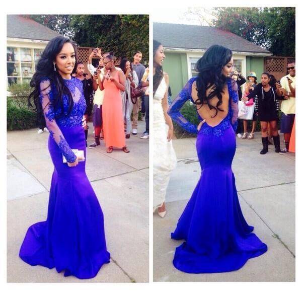 pretty long prom dresses