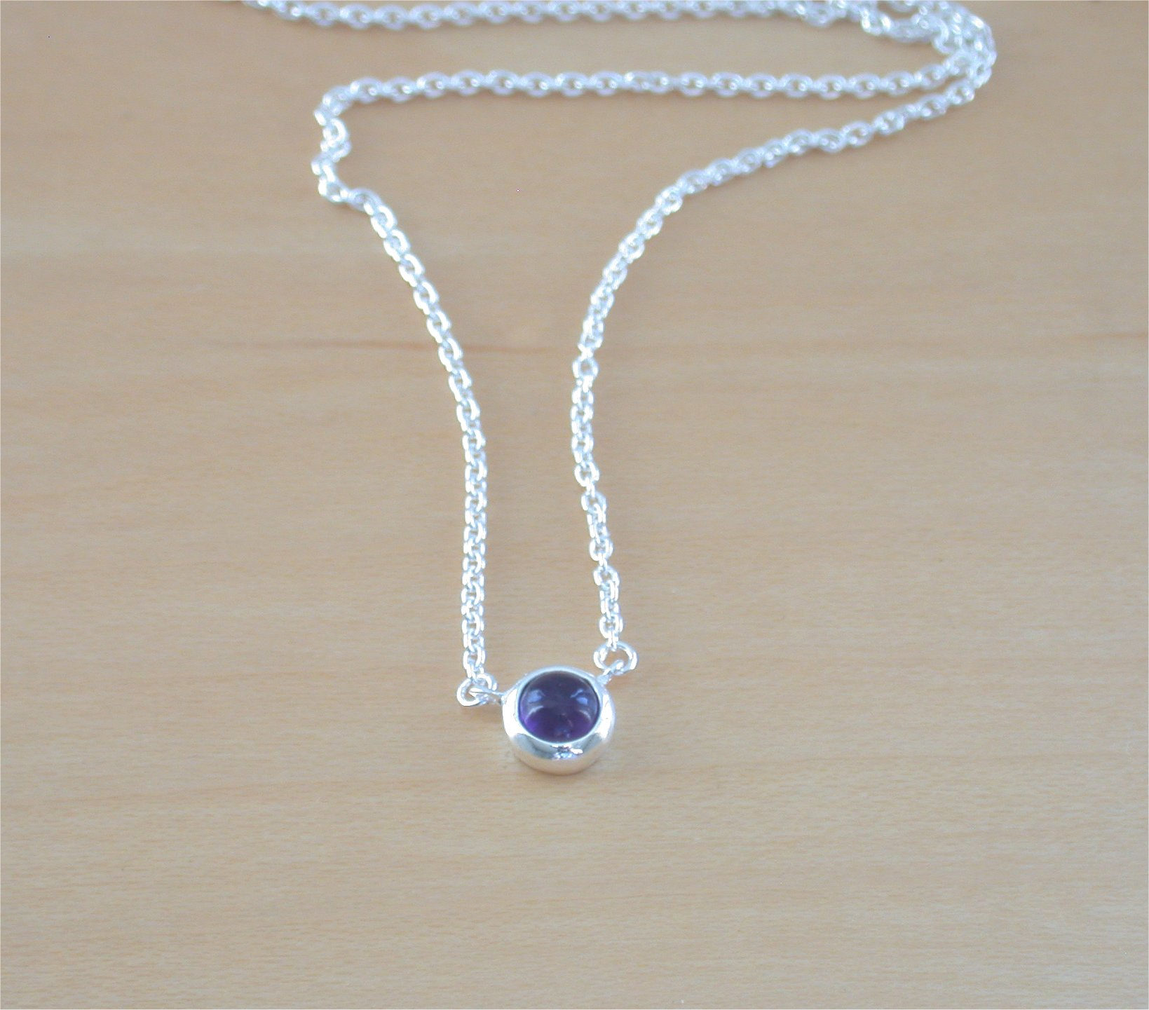 925 amethyst cabochon necklacesterling silver amethyst necklace 925 amethyst cabochon necklacesterling silver amethyst necklaceamethyst jewelryamethyst jewellery aloadofball Images