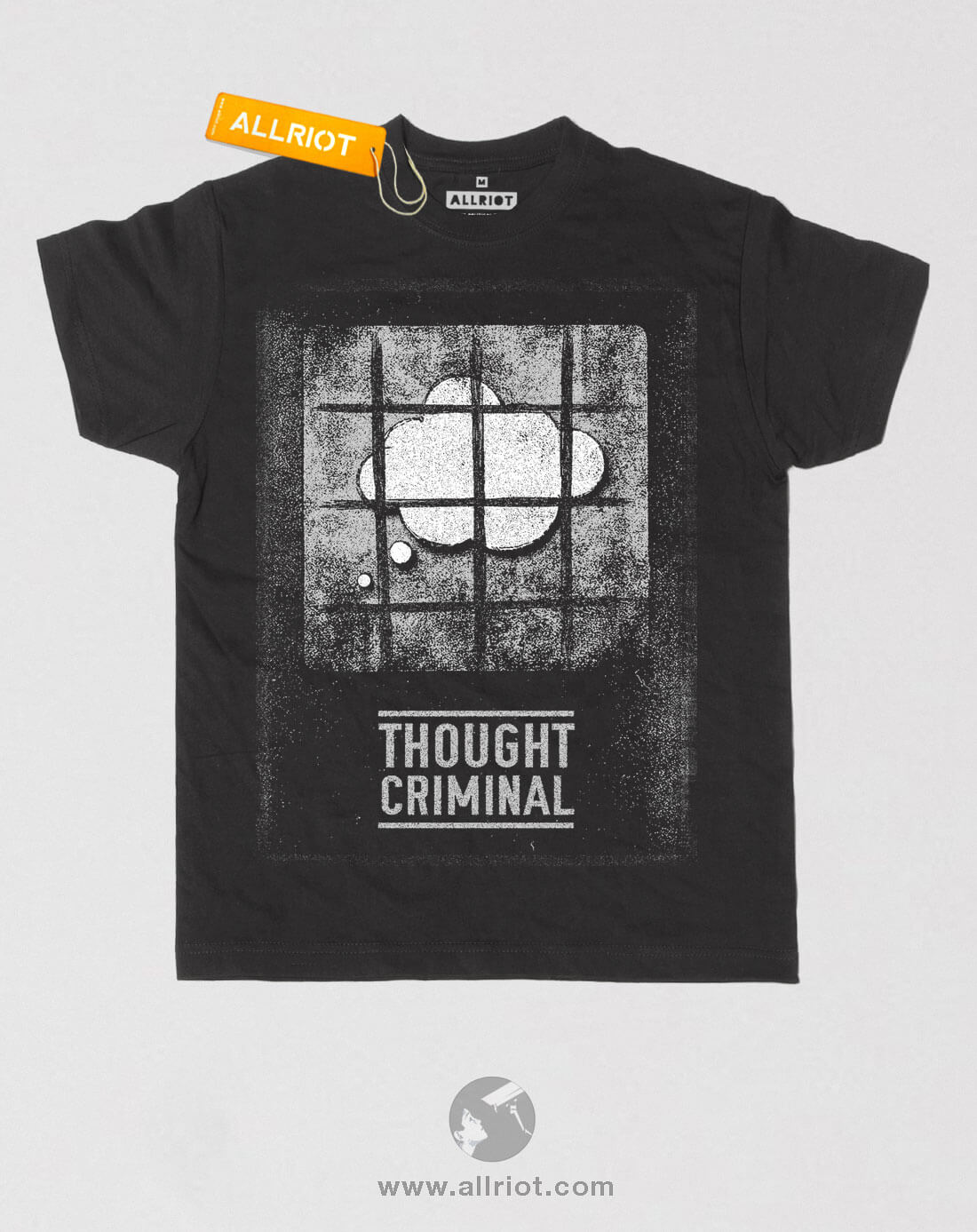 Thought Criminal 1984 political t-shirt. Screen Printed Limited ...