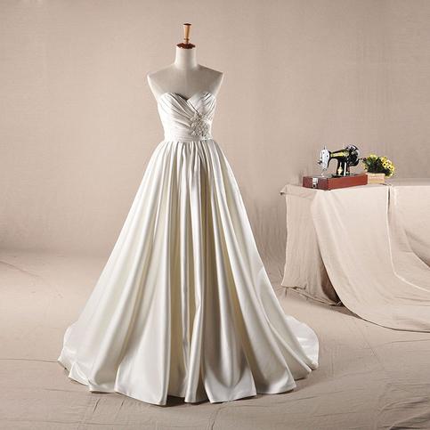 Wedding Dressesbridal Gowna Line Princess Wedding Dresssweetheart Bridal Gownsimple Design