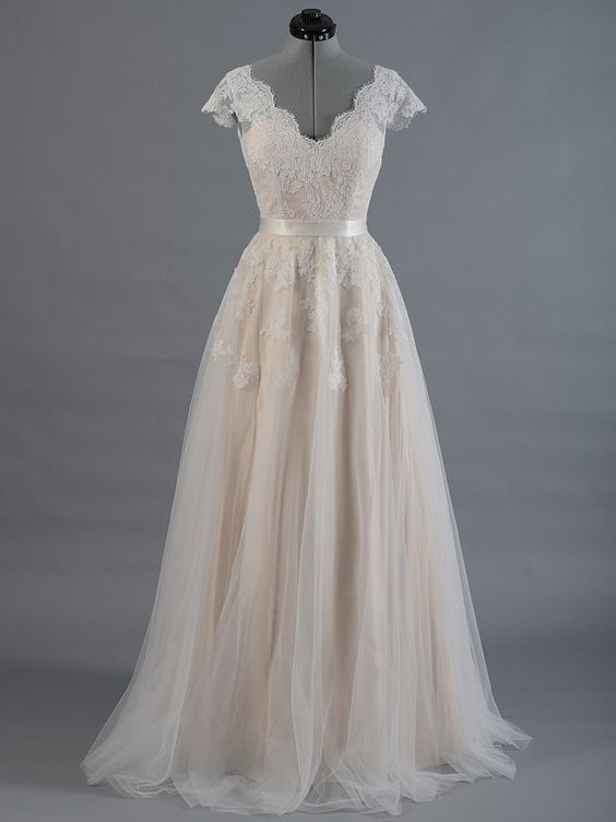 Wedding Dresses Lace Wedding Dresses Cap Sleeve Wedding Dress A Line Princess Wedding Dress Pd190125 Focusdress Online Store Powered By Storenvy,Vintage Pin Up Wedding Dresses