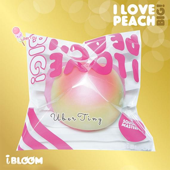 Squishy Jumbo Peach : iBloom BIG Peach Jumbo squishy (scented!) ? Uber Tiny ? Online Store Powered by Storenvy