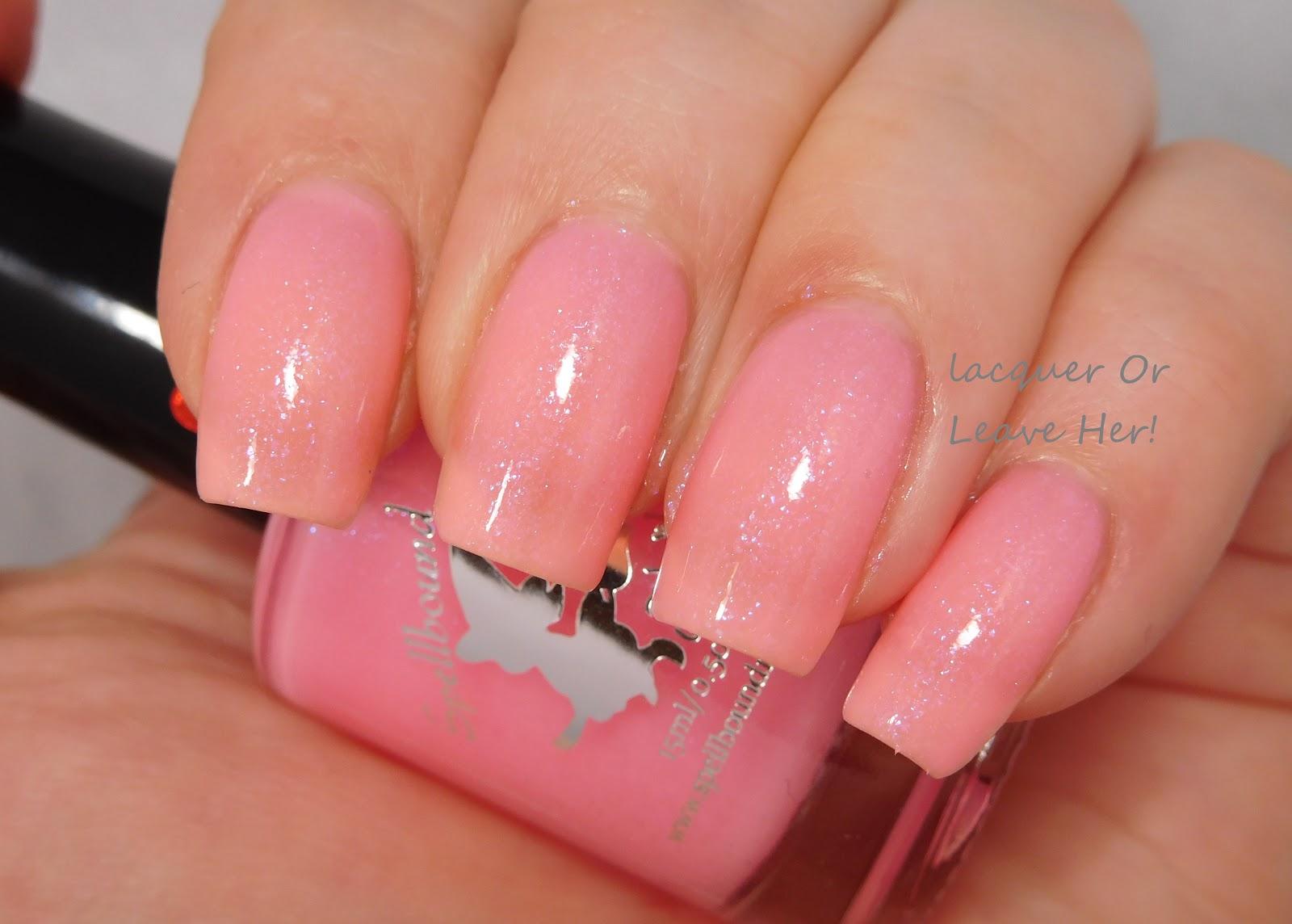 Birch, Please - custom handcrafted sheer jelly pastel pink glow in ...