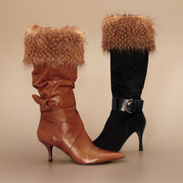 "Pheasant ""Faux Fur"" Boot Topper"