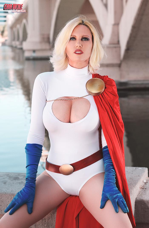 girl cosplay Power