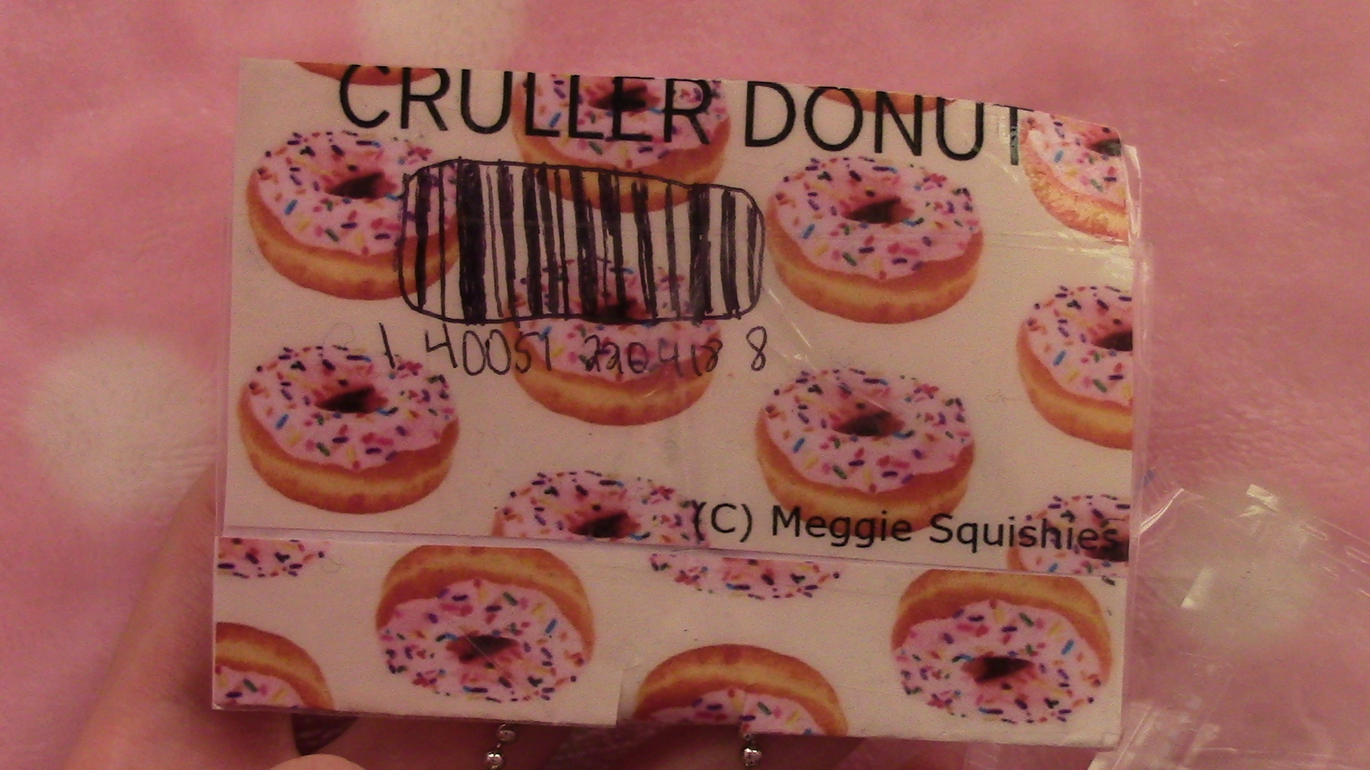 Donut Squishy Collection : Homemade Cruller Donut Squishy ? Kawaii Meg ? Online Store Powered by Storenvy