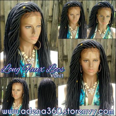 Faux Locs Lacefront Wig Long18 20