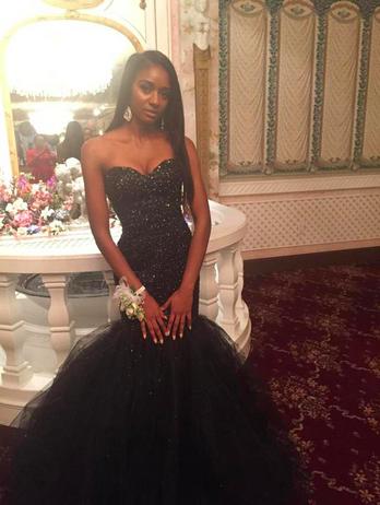 Original Black Girls Prom Dresses