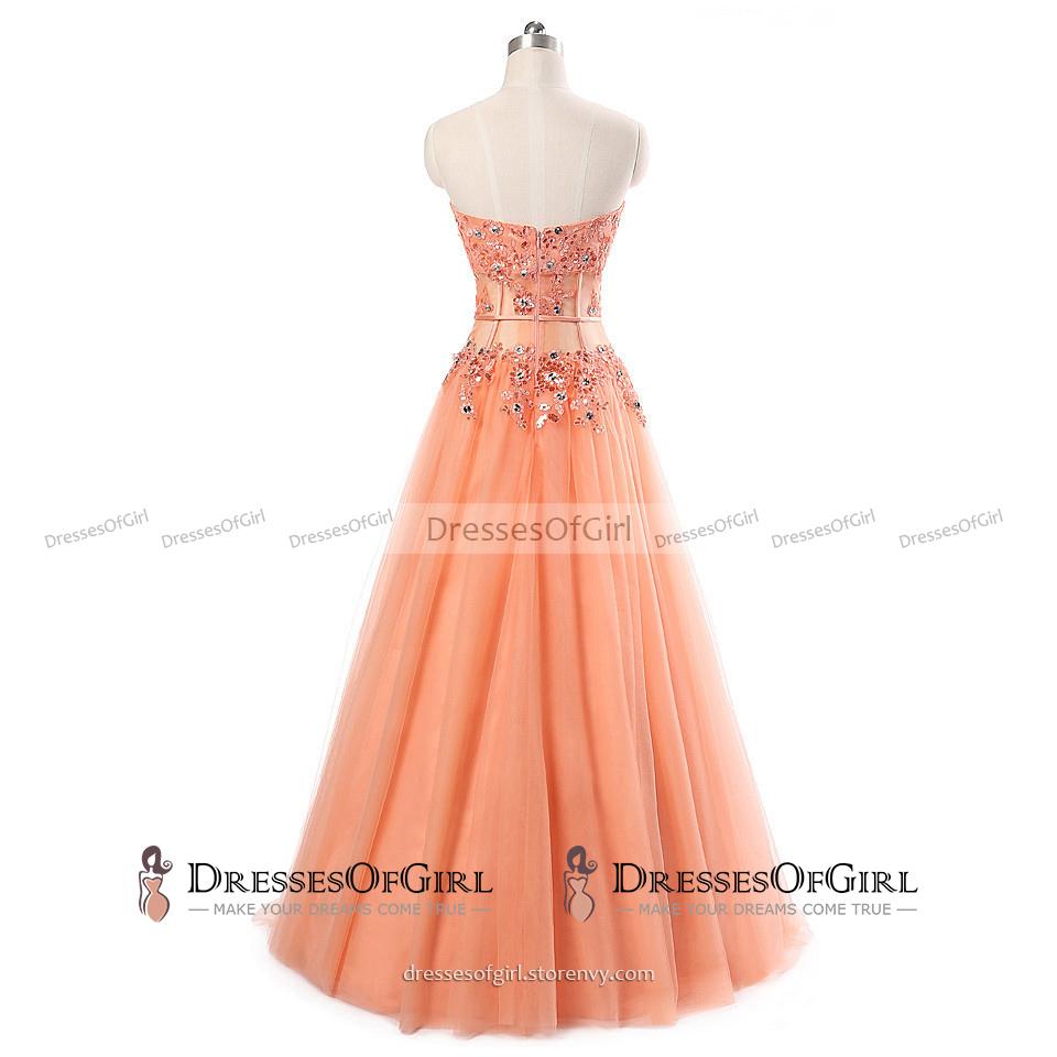 552a631bdbd Stunning Sweetheart A-line Floor Length Prom Dress