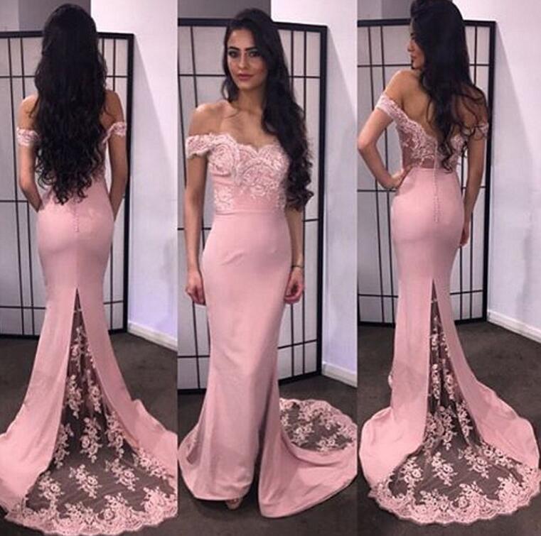Mermaid Pink Dress