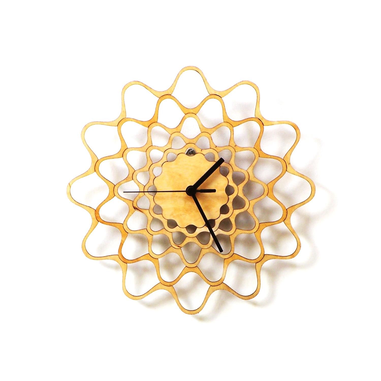 100 modern wall clock whirl modern wall clock
