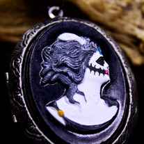 Memento Moria - Day of the Dead Locket Pendant