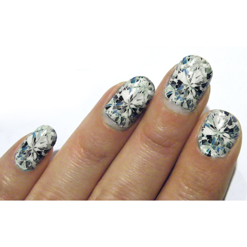 Glass Nails Diamond Nail Art Nails Manicure Diamonds Gem Stone ...