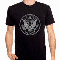 """Empire Seal"" Mens T-Shirt (Grey)"