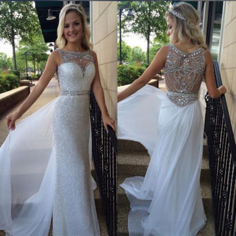 A332 Sleeveless Long Charming Prom Dresses, Top Selling Mermaid ...