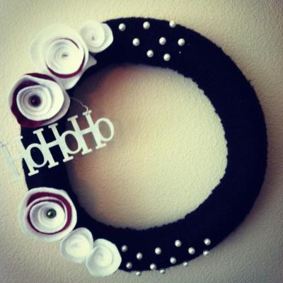 Isabella hohoho wreath