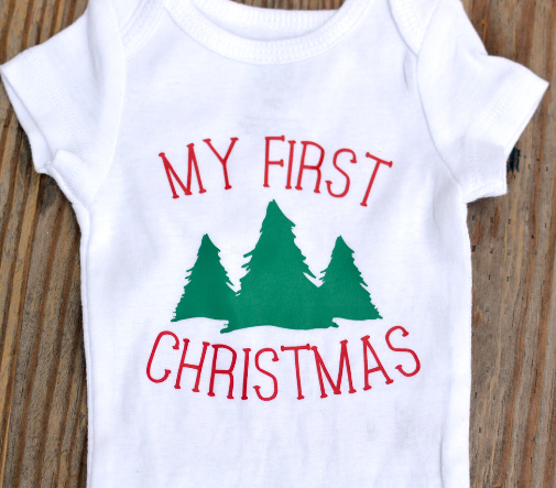 my first christmas onesie no glitter baby christmas outfit
