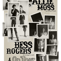 Bess Rogers and Allie Moss Tour Poster (2009)