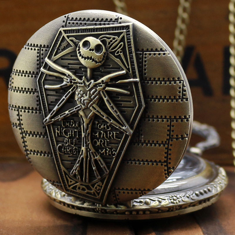 nightmare before christmas pocket watch thumbnail 1 - Nightmare Before Christmas Watch Online