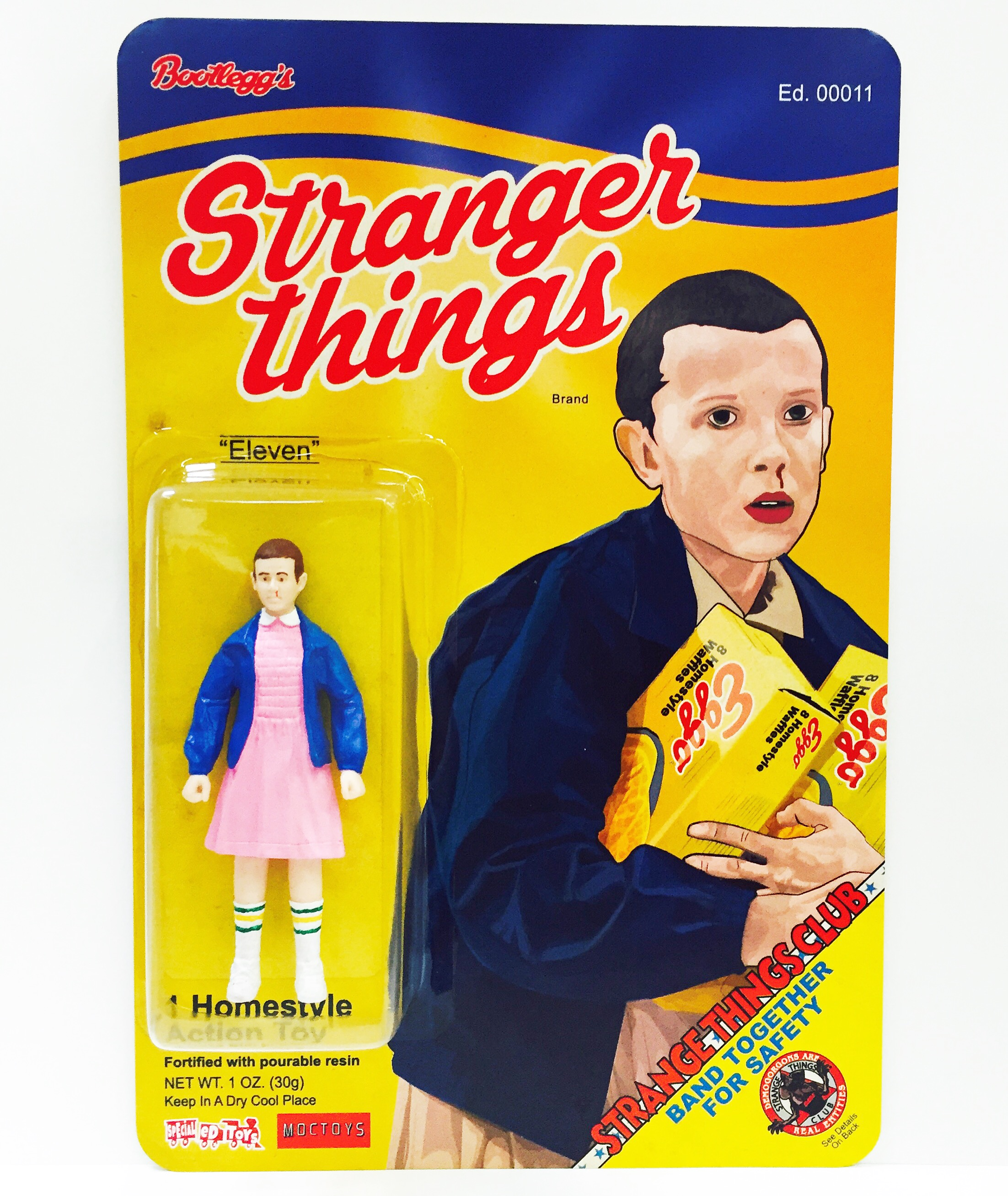 Toys For Special Education : Stranger things brand eleven artist proof edition